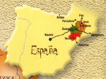 pirineus espanha mapa Pirineus aragoneses. | LÍNGUA DE MARIPOSA pirineus espanha mapa